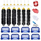 JoyBros 24-Pack Replacement Parts Compatible for iRobot Roomba Accessories 600 Series:690 ...