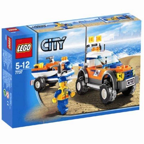LEGO City - 4x4 y Moto de Agua de los Guardacostas