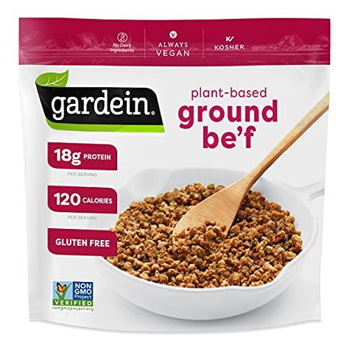Gardein Gluten-Free Ultimate Plant-Based Beefless Ground Crumbles, Vegan, Frozen, 13.7 oz.