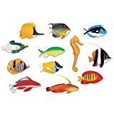 Learning Resources- Figuras de Peces Divertidos, Color (LER0407)