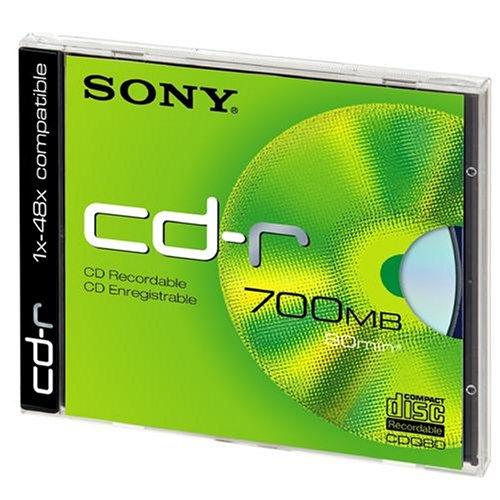 Sony CDQ-80ND 700MB - Confezione da 1