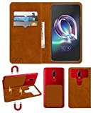 Acm Magic Magnetic 2 in 1 Leather Flip Case/Back Cover Compatible with Alcatel