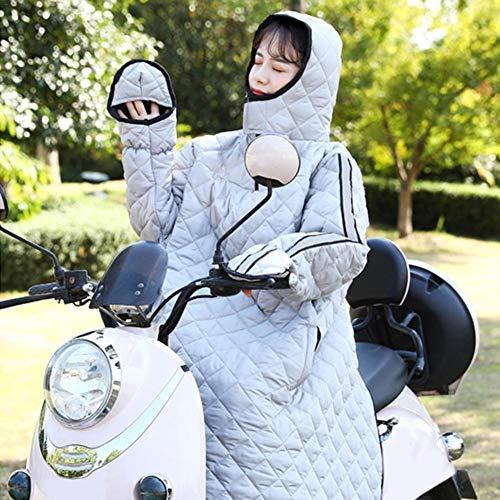 Motorcycle Windshirt Dashboard Scooter Edredón A Prueba de Viento Invierno Motocicleta Manta Edredón for la Cubierta de la Pierna del Scooter al Aire Libre