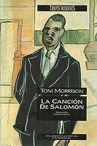 Cancion de salomon, la par  Toni Morrison