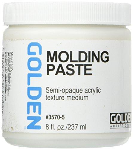 GOLDEN Molding Paste, semi opaque Acrylic Texture Medium