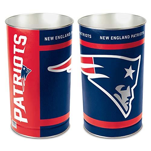 NFL New England Patriots Wastebasket