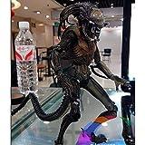 Muñeca NECA de Alien vs Predator Perro Guerrero Conjunto Ultra-móvil decoración del Coche Modelo Hec...