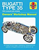 Parker, C: Bugatti Type 35 Owners' Workshop Manual (Haynes Manuals) - Chas Parker