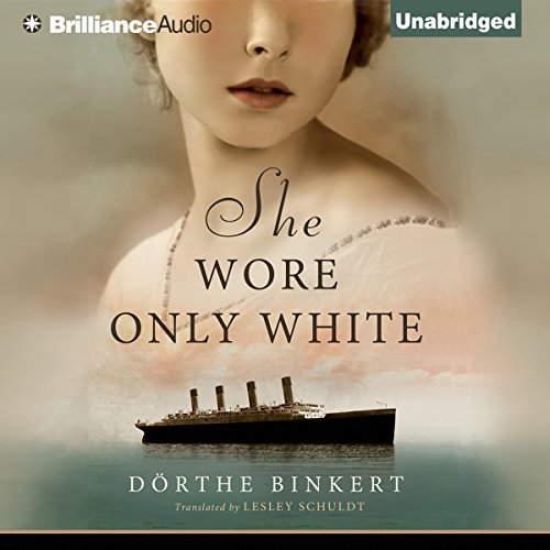 She Wore Only White audiobook cover art