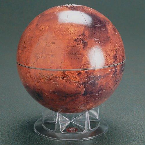 Sky & Telescope S&T 12' Mars Globe on Acrylic Stand
