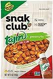 Snak Club Tajin Peanuts, 5oz Bags (Pack of 6)
