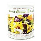 Flores comestibles, mezcla de flores de colores, set de cultivo con 7 variedades de amigos para abejas.