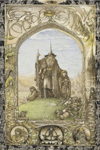 Studio B Lord of The Rings Poster