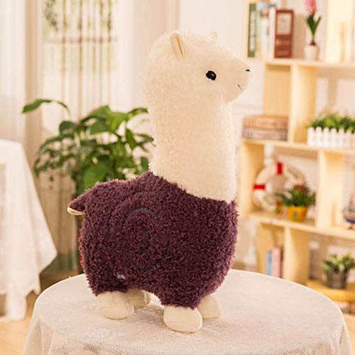 WXLKHFA Alpaca muñeca almohada juguete de peluche lindo muñeca regalo