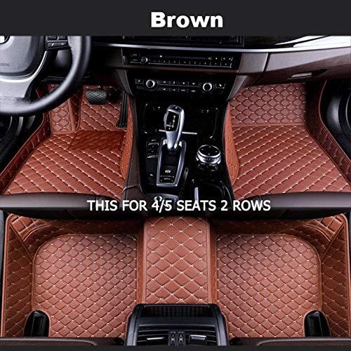 Estera de los pies del pie de Carro Personalizado para Opel para Antara Astra K Zafira TOURERO Vectra Accesorios DE Coches AUTOMÁTICOS para Autos SUV camión y camioneta (Color : 5 Seats 2 Rows E)