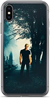 iPhone XR Case Anti-Scratch Motion Picture Transparent Cases Cover Buffy The Vampire Slayer Spyke Movies Video Film Crystal Clear