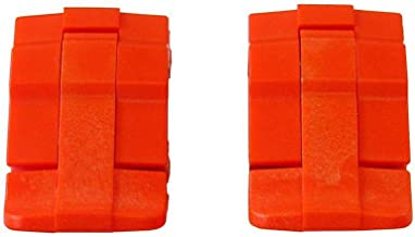 2 Orange Replacement latches for Pelican Cases.