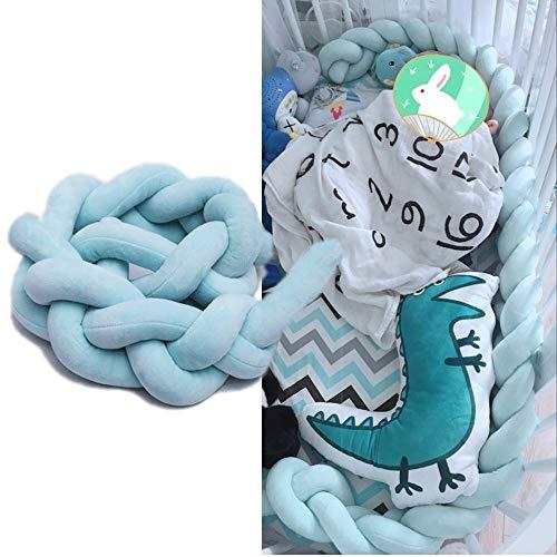 Emmala bedomranding voor babybed, casual, chic, vlechten, bescherming voor slangenkussens, decoratie van het huis, 100 cm, 150 cm, 200 cm, eenvoudig, modieus, comfortabel, chic, dagelijks gebruik