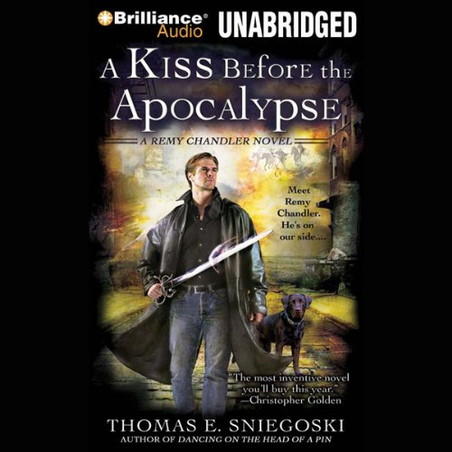 A Kiss Before the Apocalypse audiobook cover art