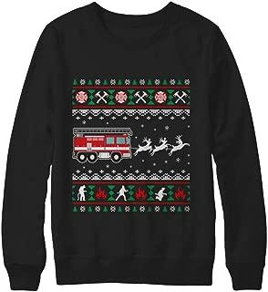 Best firefighter christmas sweater Reviews