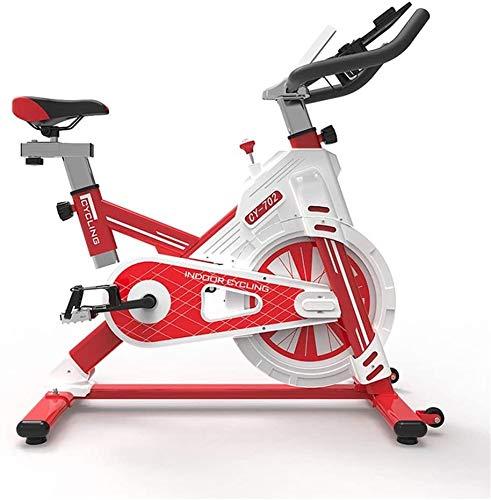 Wlnnes Árbol de deporte de deportes de mute de interior Coche de gimnasia para el hogar Equipo de pérdida de peso Paquete completo Paquete completo Bicicleta (Color : Rojo)