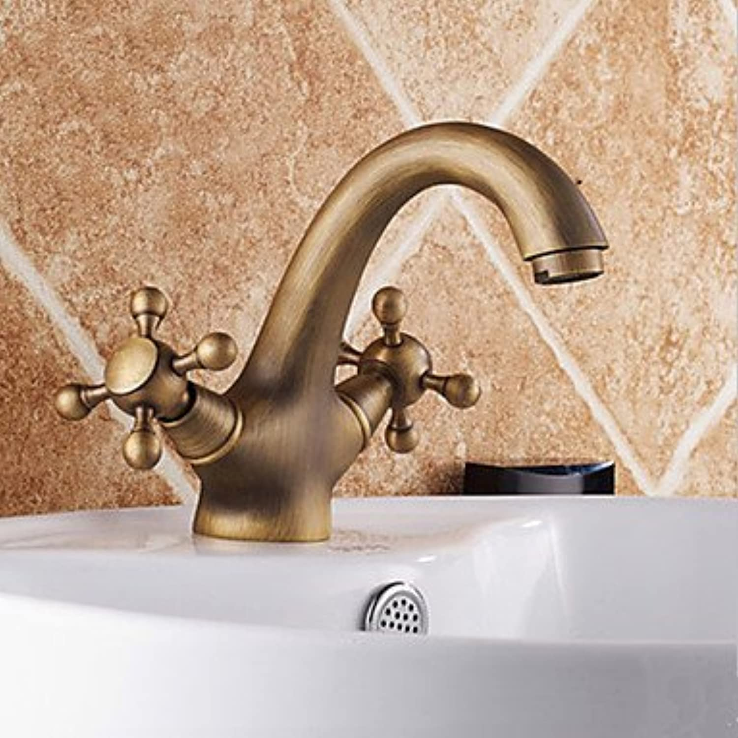 AA Faucet£? Antique inspired bathroom sink faucet