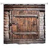 Tiazza Pestillo para puertas y ventanas de madera lat/ón puro