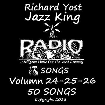 Jazz King Radio Songs, Vol. 24 - 26