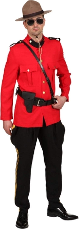 Fancy Me Herren kanadisches Mountie National Dress Emergency Service Police Uniform Kostüm Outfit
