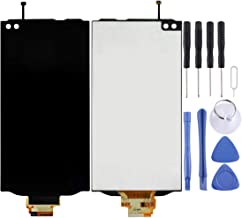 HDFSDHADJFHS LCD Screen LCD Screen and Digitizer Full Assembly for LG V10 H960 H961 H968 H900 VS990(Black) Replacement Parts (Color : Black)
