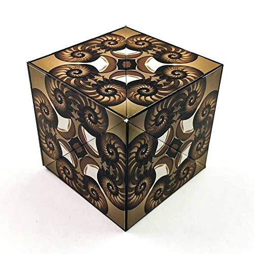 GeoBender Cube Nautilus – der komplexe Magnetwürfel, 3D Puzzles, Geduldsspiel für Kinder und Erwachsene, transformations Infinity-Cube
