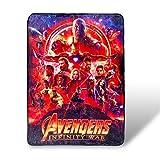 Avengers Infinity War Fleece Blanket| Licensed Marvel Merchandise | 45x60 Inches