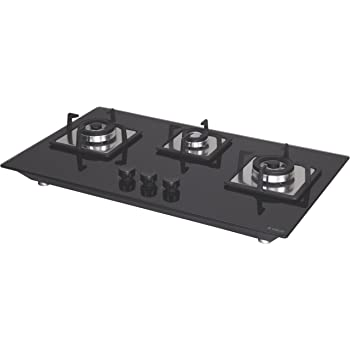 Elica 3 Brass Burner Cooktop Hob (Flexi Brass Hct 375 Dx)