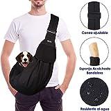 SlowTon Bandolera para Perro, Pet Carrier Dog Puppy Hand Sling para Cachorros...