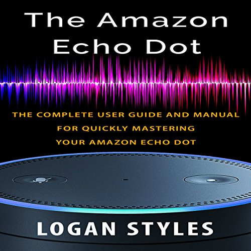 Amazon Echo Dot audiobook cover art