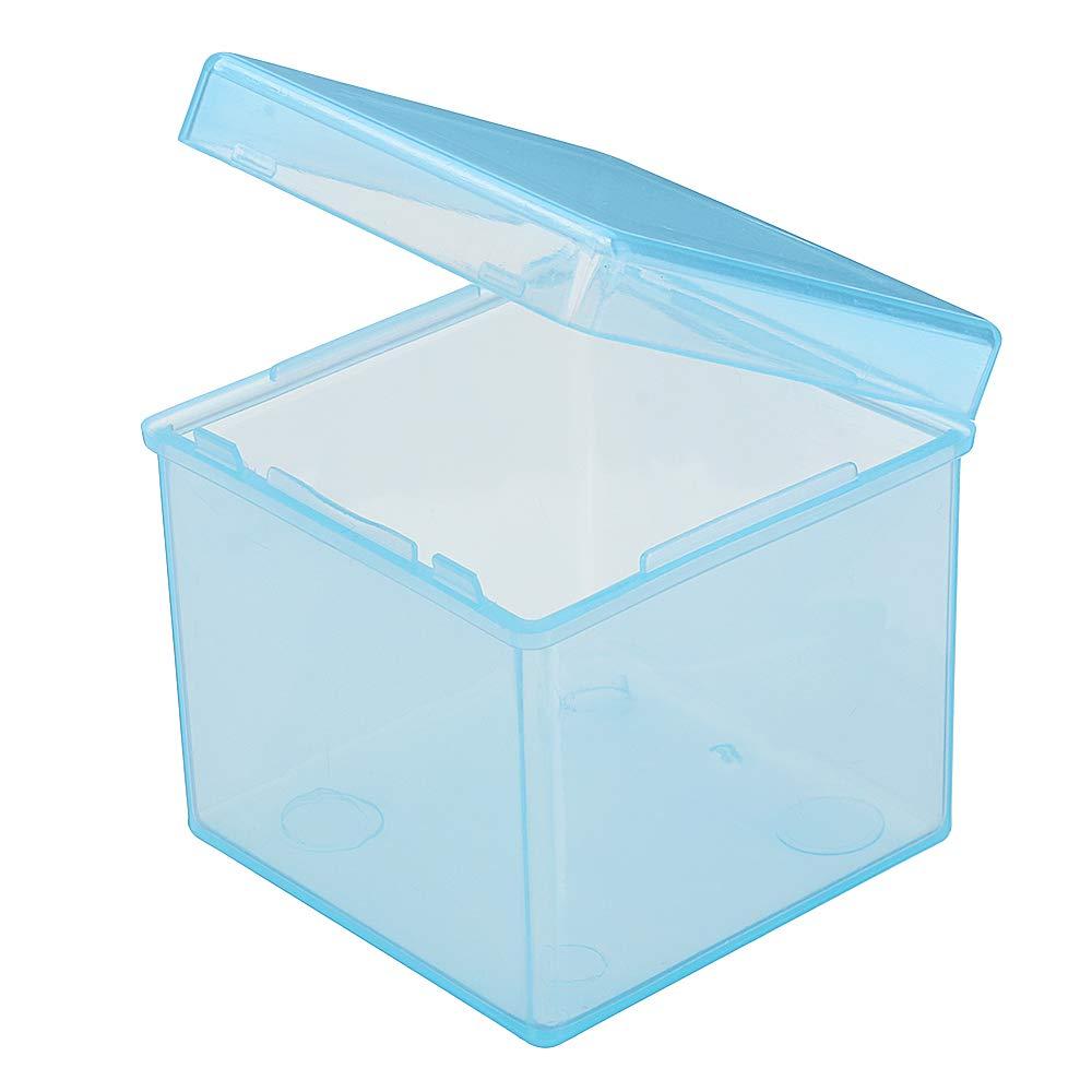 Tutoy Caja De Almacenamiento De Cubo Mágico De PP Transparente Estuche Proteger para Universal 57Cm 3X3X3 Cubo Mágico - Azul Transparente: Amazon.es: Hogar