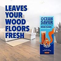 OceanSaver Wood Floors Cleaning EcoDrops | Wooden Floor Cleaner | Almond Swell | Eco/Vegan Friendly Plastic Free…
