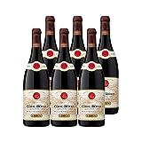 Côte Rôtie Brune et Blonde de Guigal Rouge 2017 - Maison Guigal - Vin AOC Rouge de la Vallée du Rhône - Lot de 6x75cl - Cépage Syrah - 90-92/100 Robert Parker