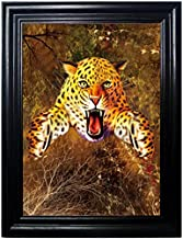 HUINTERS FRAMED Wall Art--Lenticular Technology Causes The Artwork To Flip-MULTIPLE PICTURES IN ONE-HOLOGRAM Type Images Change--MESMERIZING HOLOGRAPHIC Optical Illusions By THOSE FLIPPING PICTURES