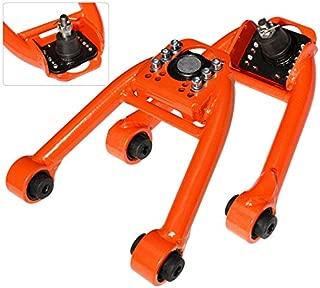 AJP Distributors JDM Tubular Adjustable Front Camber Kit Suspension For 1996 1997 1998 1999 2000 96 97 98 99 00 Honda Civic EJ6 EJ7 EJ8 EM1 EK1 EK2 EK3 EK4 EK9 EK (Orange)
