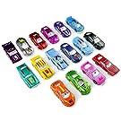 Fajiabao Mini Metallo Auto Giocattolo per Bambini Macchina da Corsa Scala 1 64 Set Modellini Auto Regalo per Bambini 3 4 5 Anni