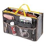 Getko Women Makeup Cosmetic Organizer Handbag Travel Purse Toiletry Pouch (Multi Color)
