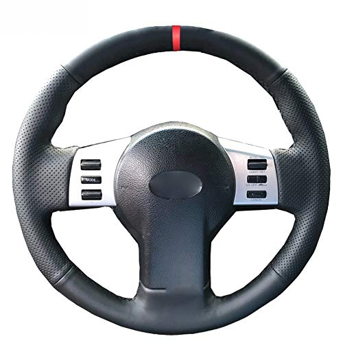 LINBUDAO Handnähen Autolenkradabdeckung , Für Infiniti FX FX35 FX45 2003 2008 , Für Nissan 350Z 20032009 Geflecht am Lenkrad | Lenkabdeckungen |