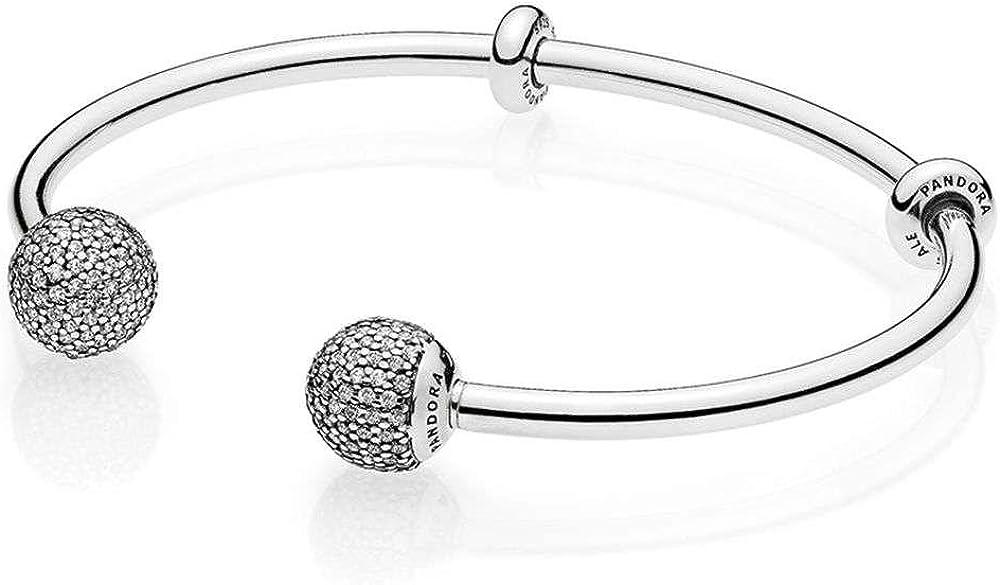 Pandora bracciale da donna rigido aperto 596438CZ-1