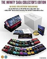 Marvel Studios: The Infinity Saga - Collector's Edition Complete Box Set UHD [Blu-ray] [2020] [Region Free]