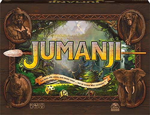 Jumanji - Le Jeu Familial chargé d'action, pour 2 à 4 aventuriers Courageux à partir de 8 Ans.