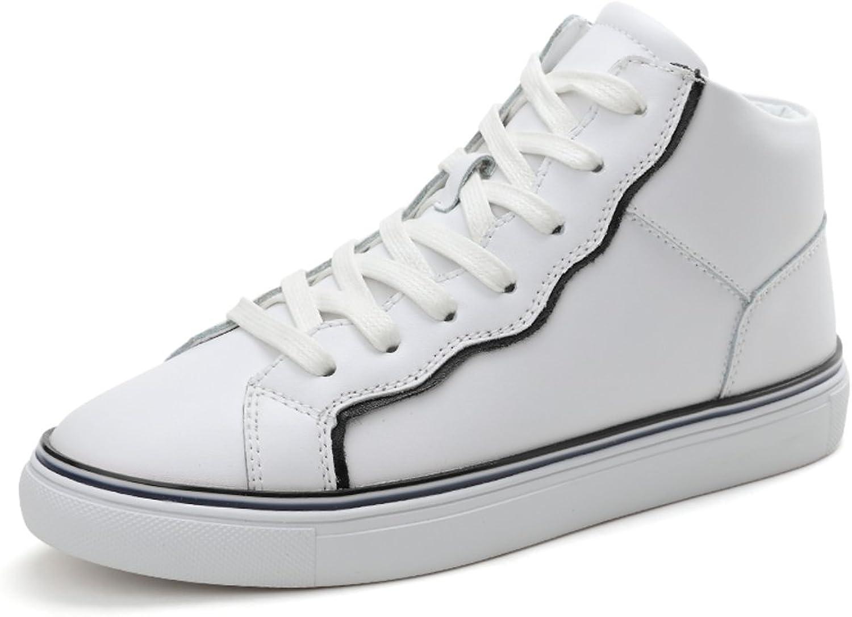 Fall Of Korean Hoch Mit Flachen Schuhen,Jurchen Leder Freizeitschuhe,Nude Schuhe,Student Dicken Boden Schuh,Damenschuhe