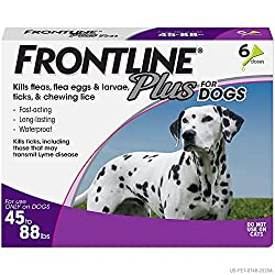Merial Frontline Plus Flea and Tick Control for Dogs