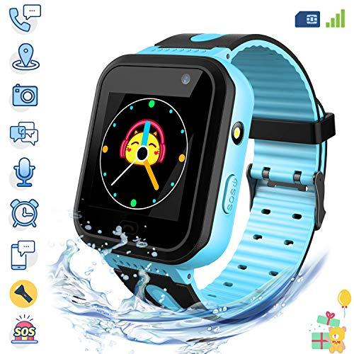 Reloj Inteligente para niños infantiles – Brillatix HLM009 (Nueva Versión) – con pantalla tácil de…