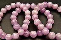【 福縁閣 】ピンククンツァイト 12mm ブレスレット_BG138-12天然石 パワーストーン ビーズ